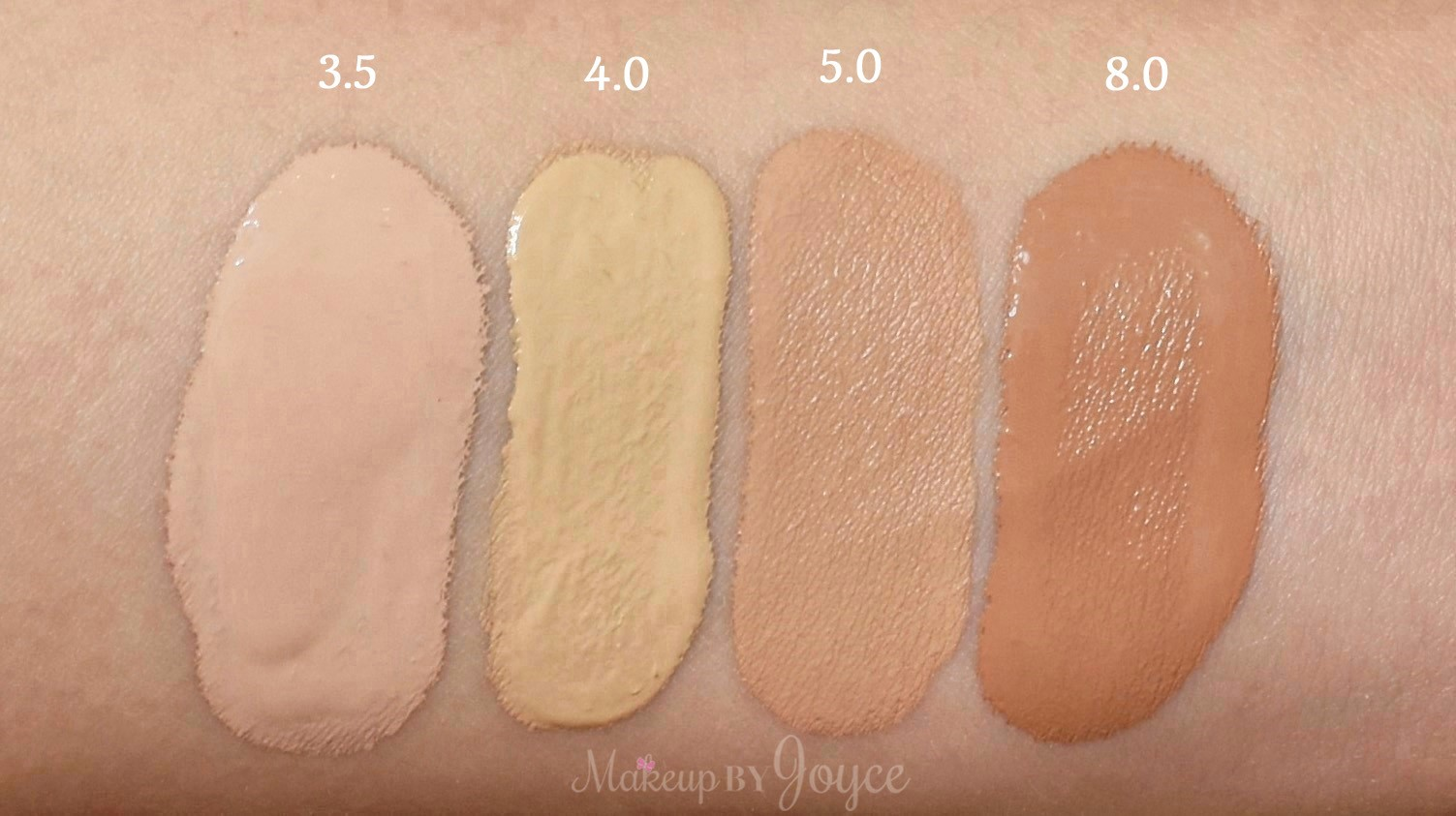 Makeupbyjoyce Review Swatches Urban Decay All Nighter