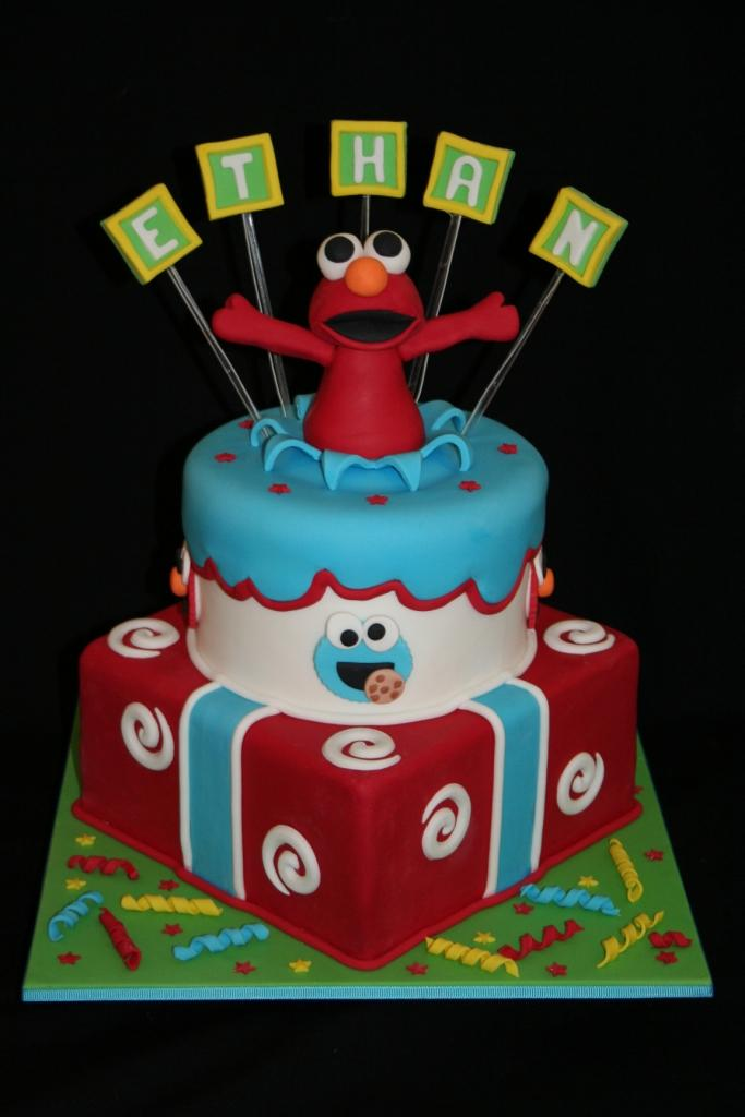Leonie S Cakes And Parties Elmo Party Ethan S