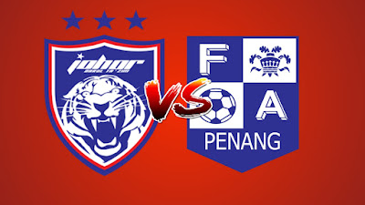 Live Streaming JDT II vs Penang FA Liga Premier 18.5.2019