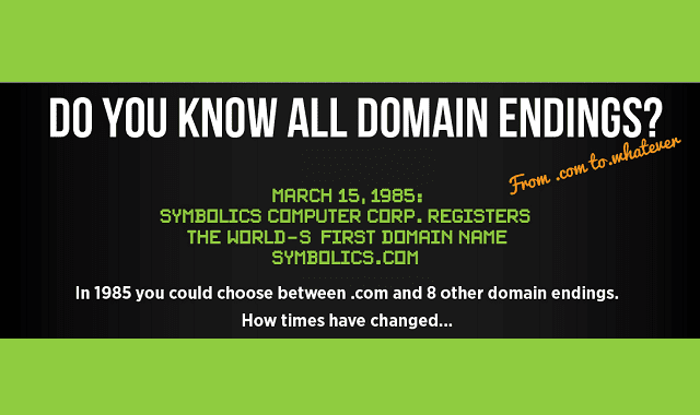 Do You Know All Domain Endings?
