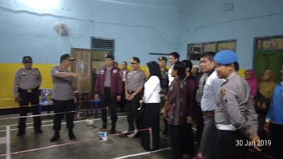 Kapolres Purworejo Kunjungi 2 Desa dikecamatan Pituruh Jelang Pilkades