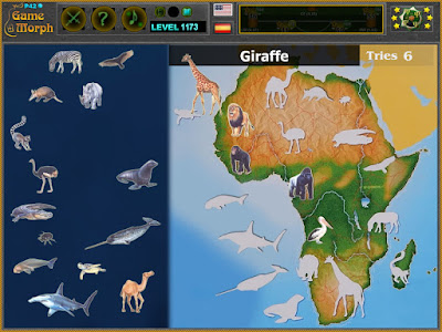 Животните на Африка Пъзел