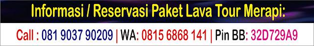 Track Rute Air Wisata Jeep Di Kali Kuning Merapi 2019