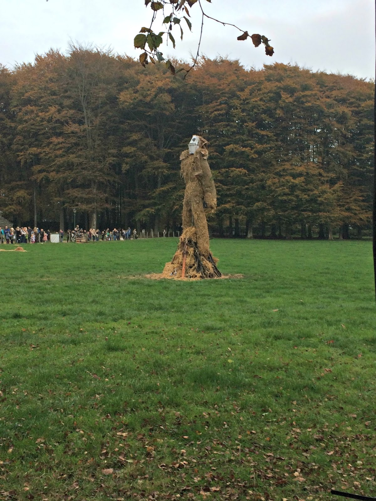 Wicker Man St Fagins Cardiff, Halloween 2016