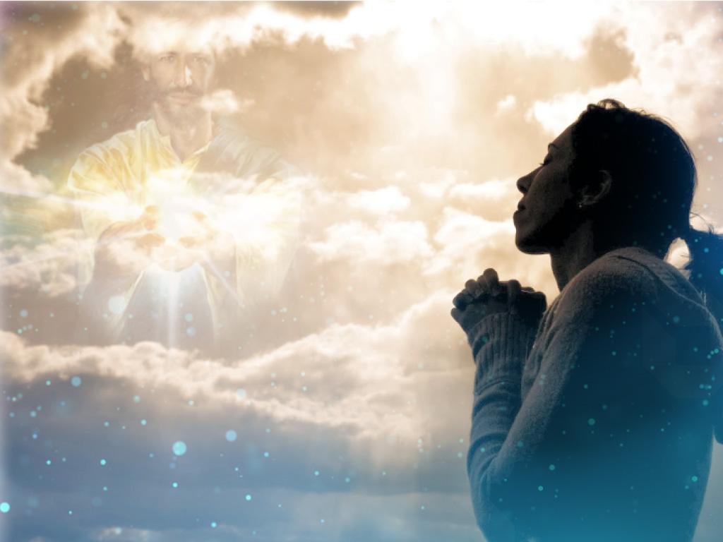Woman Praying (Awit ng Paghahangad - Bukas Palad)