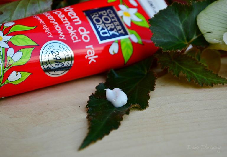 InspiredBy NATURALNIE PIĘKNA - Cztery Pory Roku Krem do rąk glicerynowy Kompleks witamin i ekstrakt neroli