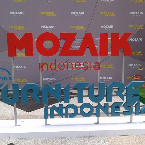 Kolaborasi Pameran Mozaik dan Furniture Indonesia 2016: Menampilkan Potensi Terbaik Furnitur dan Desain Indonesia