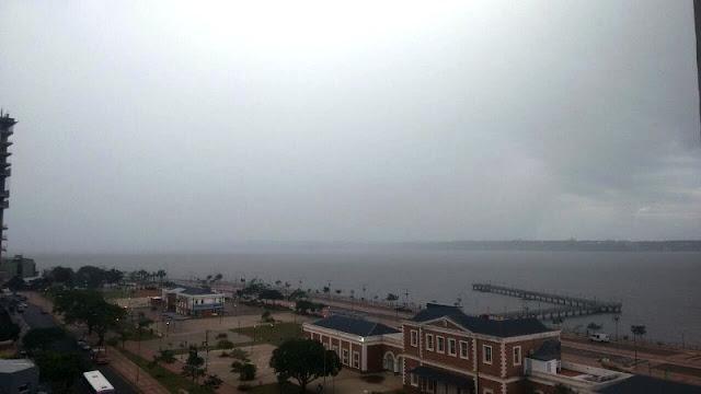 Un frente frío sobre el litoral podría ocasionar algunas lluvias y tormentas en la provincia