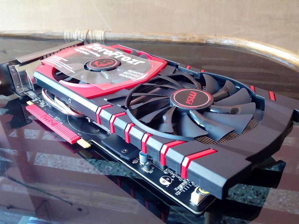 Msi r9 380 gaming 4g graphics card