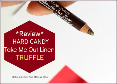 Hard Candy Take Me Out Liner || Review, Swatches & EOTD on Natural Beauty And Makeup Blog
