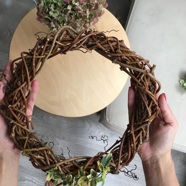 podzimní věnec DIY - nápady na podzimní věnec