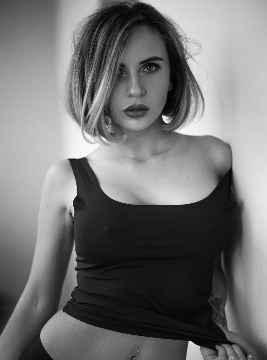 Andrey Firsov 500px arte fotografia mulheres modelos fashion beleza russas preto e branco