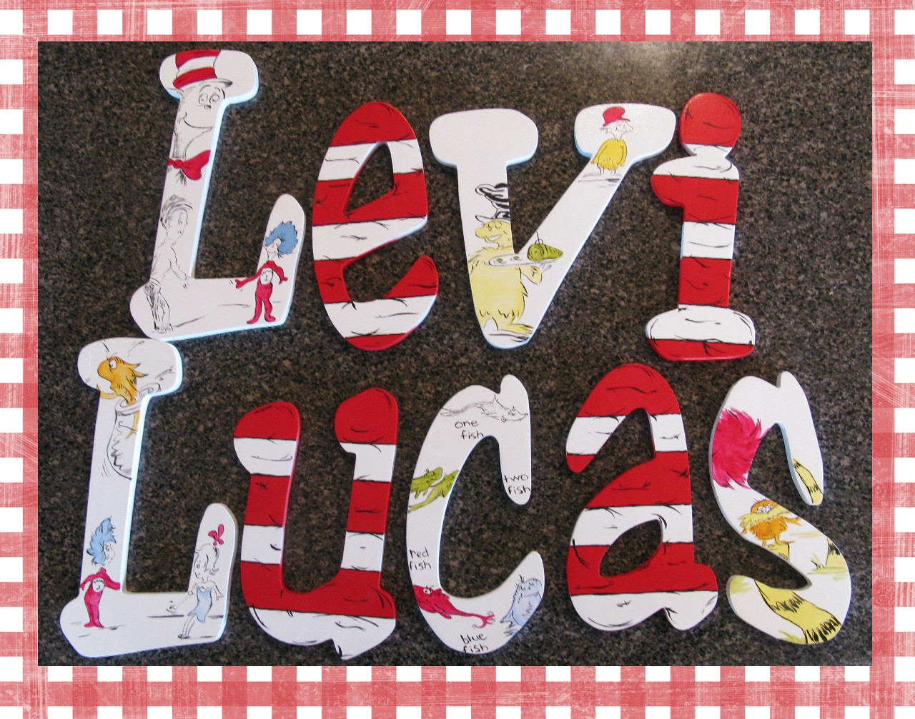 The Funky Letter Boutique Dr Seuss Children S Room Decor