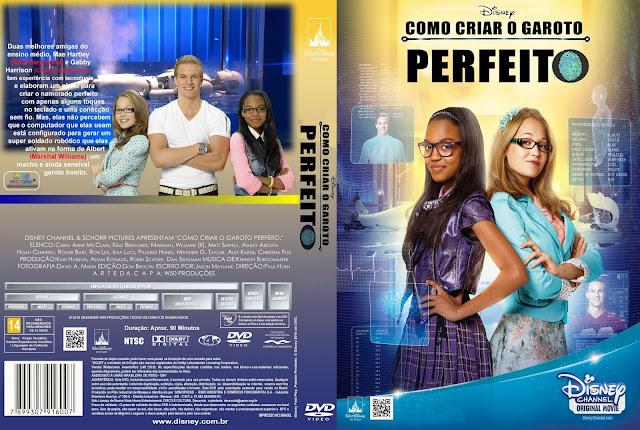 Capa DVD Como Criar O Garoto Perfeito
