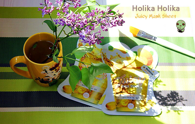 Тканевая маска с соком манго Holika Holika Juicy Mask Sheet / обзор, отзывы