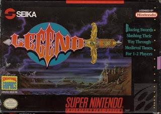 Legend jogo épico do nintendo