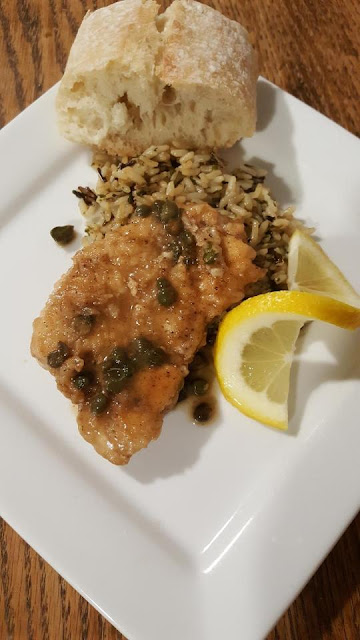 Chicken-Piccata