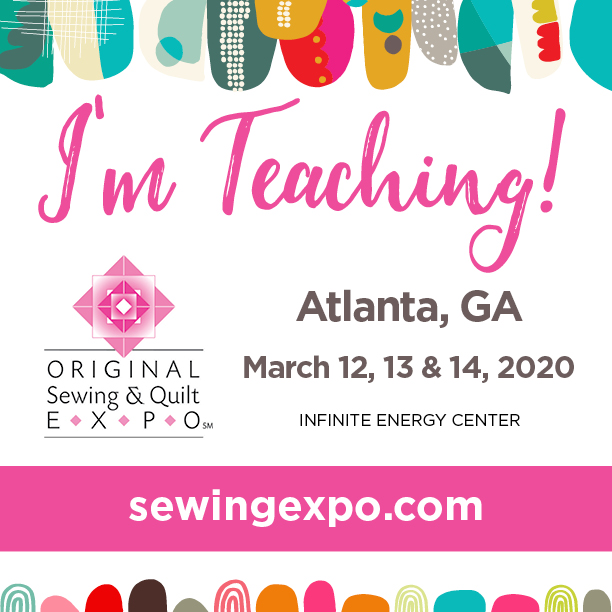 Atlanta Classes for the Sewing Expo