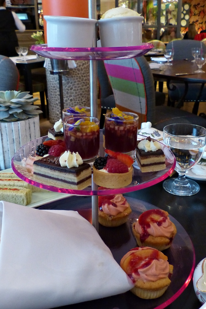 Afternoon tea at the Soho Hotel