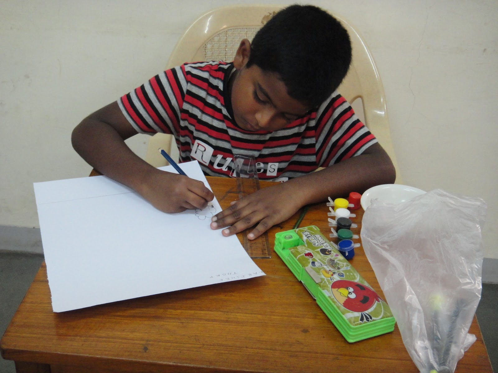 Criteria for judging a skill b creativity interpretation of theme c pencil control d shading outline