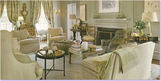 Traditional French Country Home Living Room Modern French Country