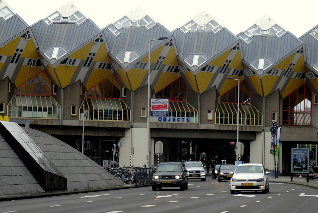 Cube Houses Rotterdam, the Netherlands