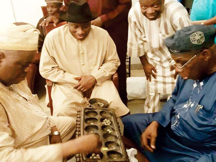 See what Obasanjo and GEJ discussed yesterday