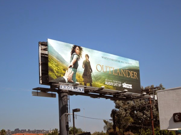 Outlander series premiere billboard
