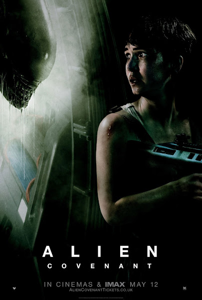 Poster of Alien Covenant 2017 Dual Audio DD5.1 [Hindi-English] 1080p BluRay ESubs Download