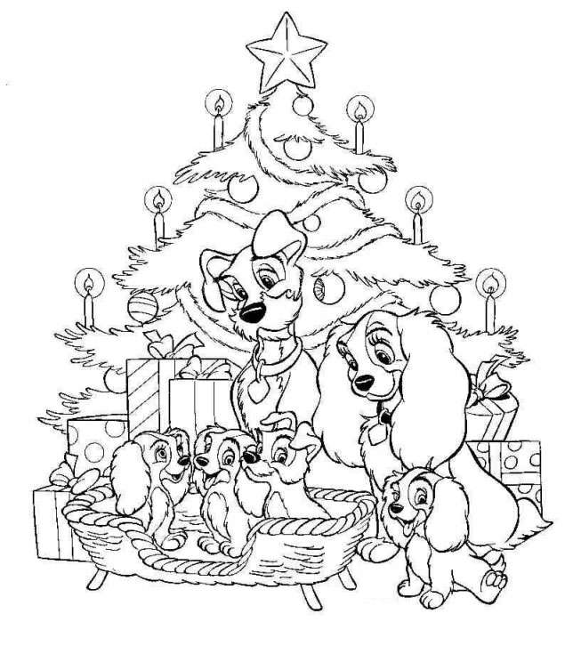 Lady And The Tramp Coloring Books: DISNEY COLORING PAGES