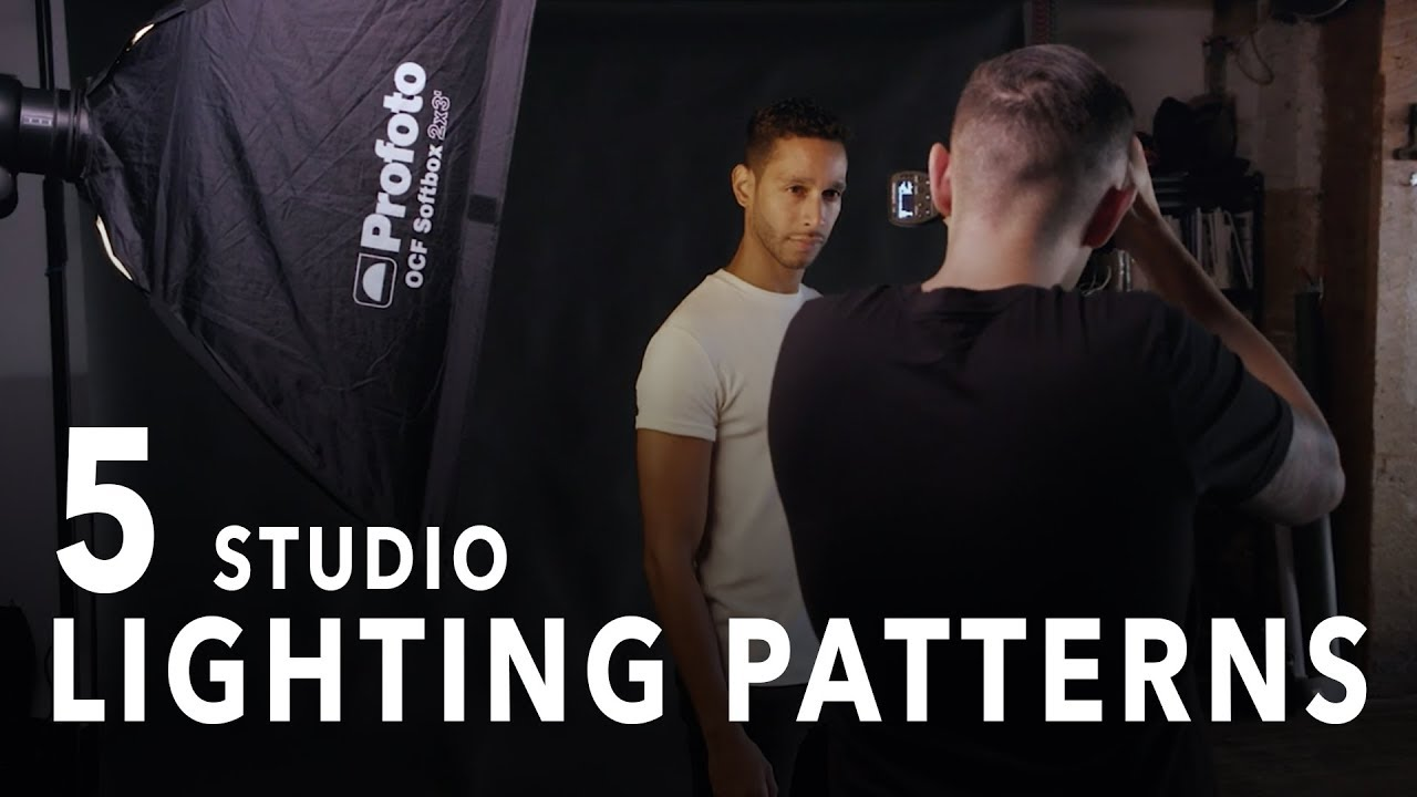 Portraits: The 5 Basic Patterns of Light