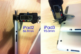 The Thickness Difference Between iPad 3 & iPad 2 Will Be 0.81 mm [ Screenshot ]