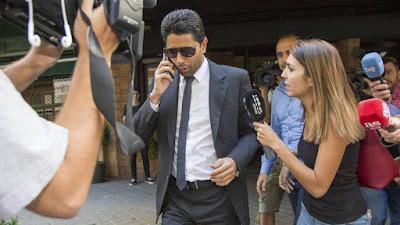 تحقيقات سويسرية, فساد ناصر الخليفى, قطر, تنظيم كاس العالم,