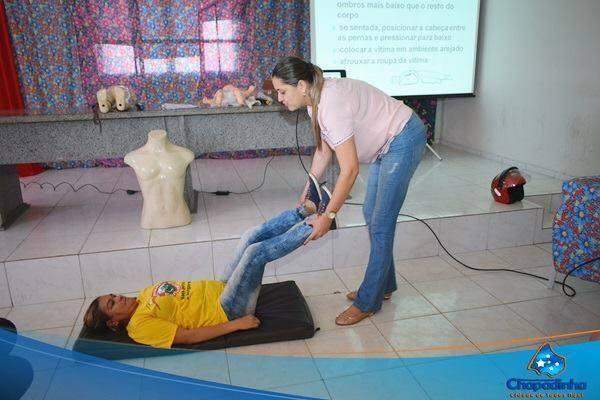 Prefeitura de Chapadinha através da Secretaria de saúde oferece aos agentes comunitários de saúde treinamentos de primeiros socorros