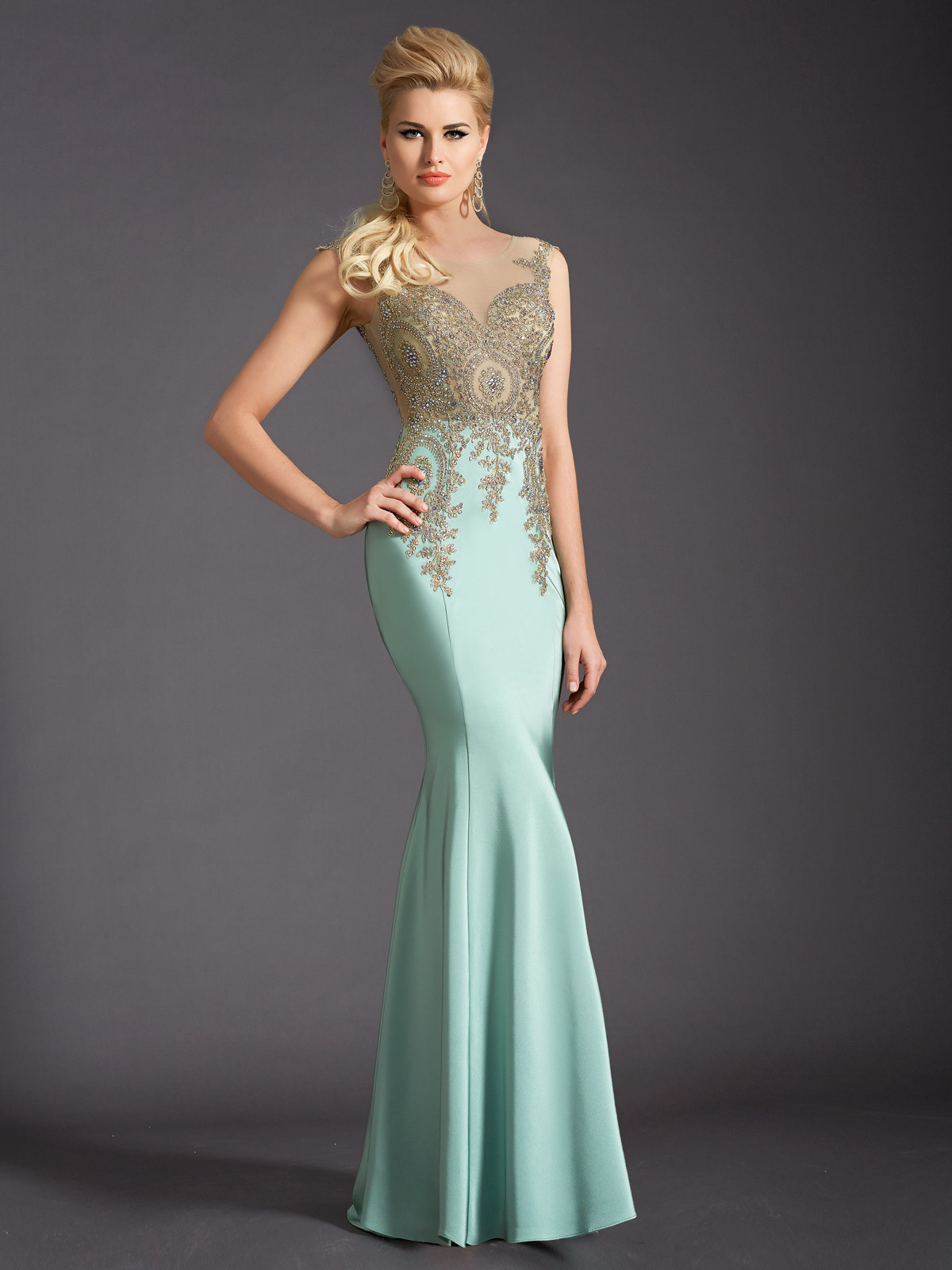 Vestidos largos elegantes de moda