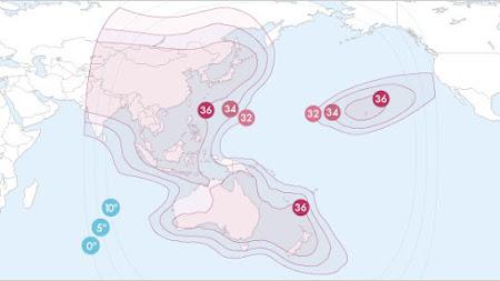 Satelit frekuensi jcsat 2a Update Terbaru