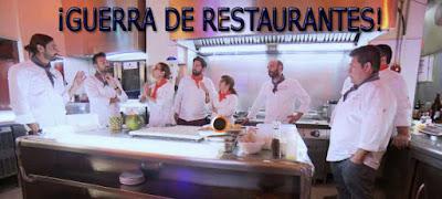 Guerra de restaurantes en el programa 6 de Top Chef, programa 6