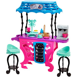 MH How do you Boo Fright Roast Coffee Playset Doll