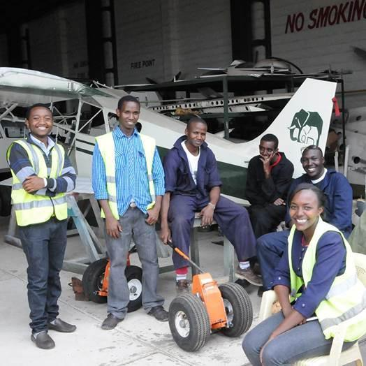 Aviation students