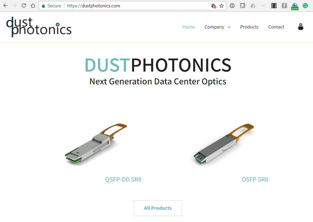 Dustphotonics Leverages Manufacturing Innovation For 400g