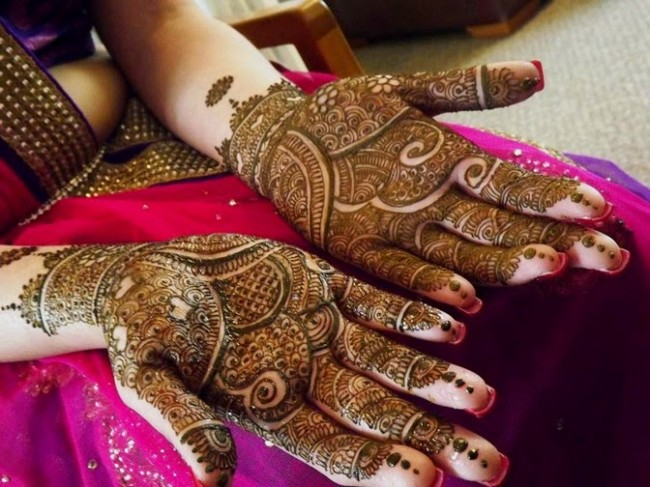 Designs Of Mehndi For Palm : Mehndi designs on palm amazing mehandi for u part