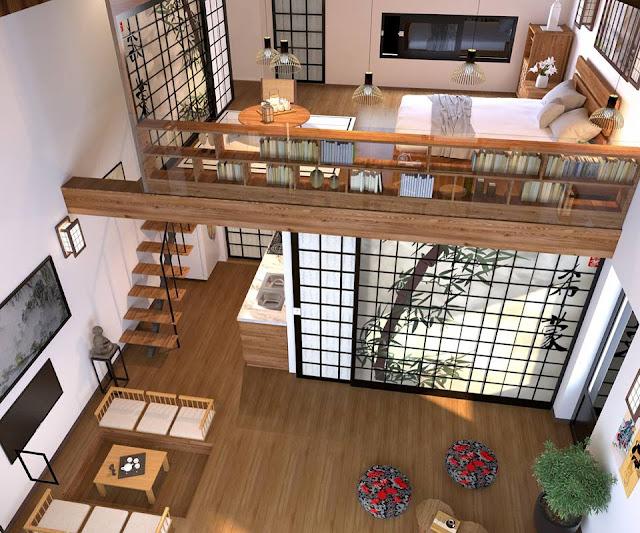 Thiết kế nội thất bên trong biệt thự Ohara Villas