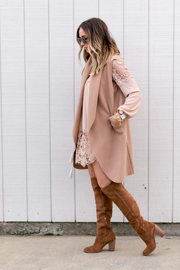 dress with winter layers
