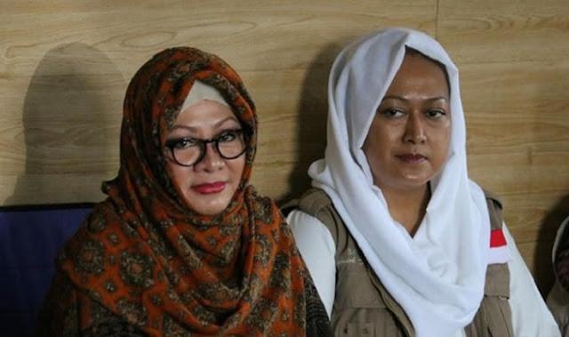 Kunjungi Markaz FPI, Mbak Tutut Berdoa Agar Habib Rizieq Segera Kembali Ke Tanah Air