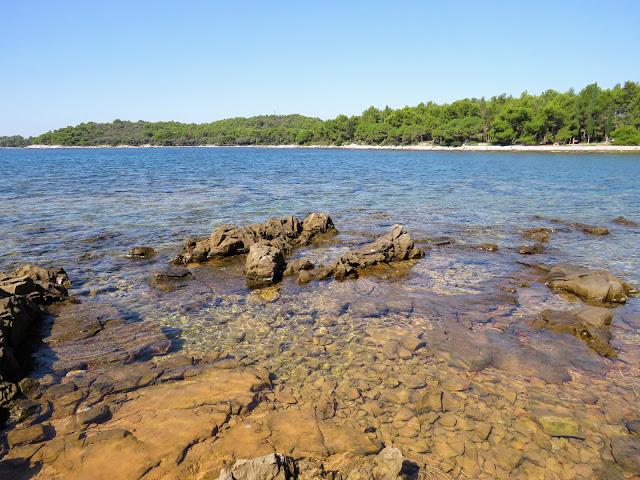 Rovinj's coast