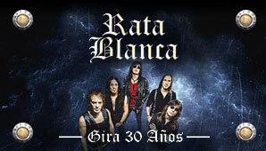 RATA BLANCA: 30 AÑOS en Bogotá