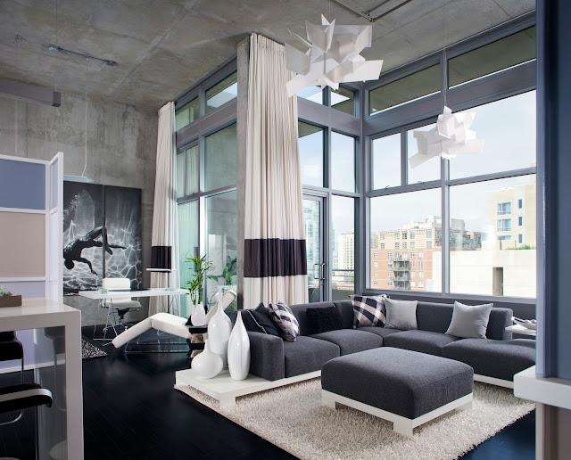 sala de estar cores neutras