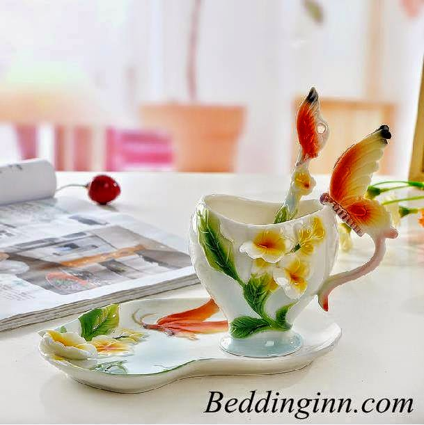Stylish Design Gorgeous Butterfly Coffee Cup