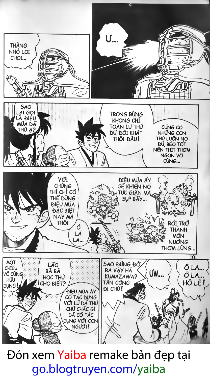 Yaiba chap 5 trang 16