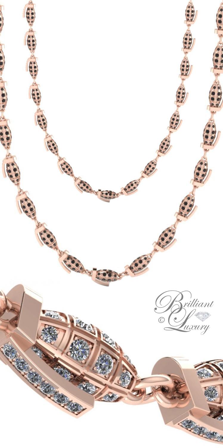 Brilliant Luxury ♦ Bobby White Boom Necklace
